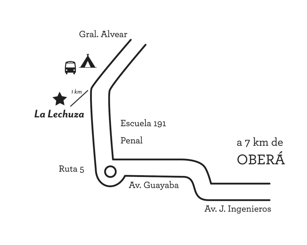 Mapa La Lechuza